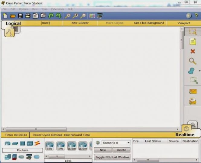 Cisco Packet Tracer Main Interface
