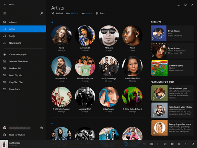Windows 10  Insider Preview Build 10240 iso Music Preview