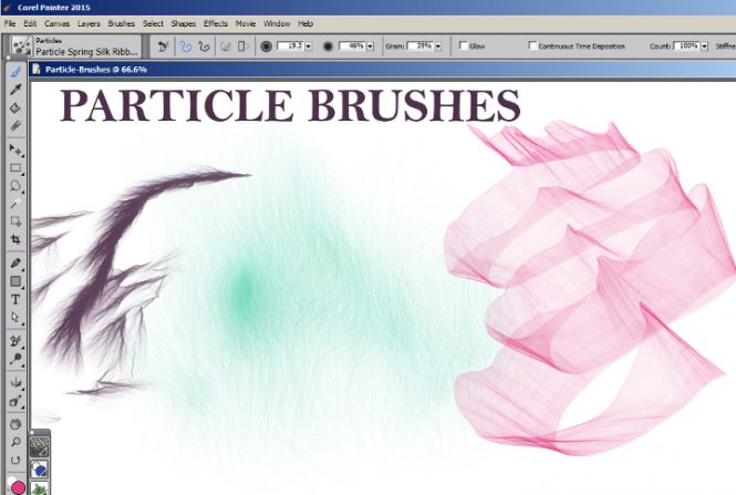 Particle Brushes