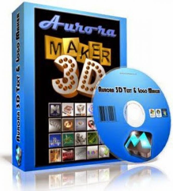 Aurora 3d text logo maker download in one click virus free 3d creator free