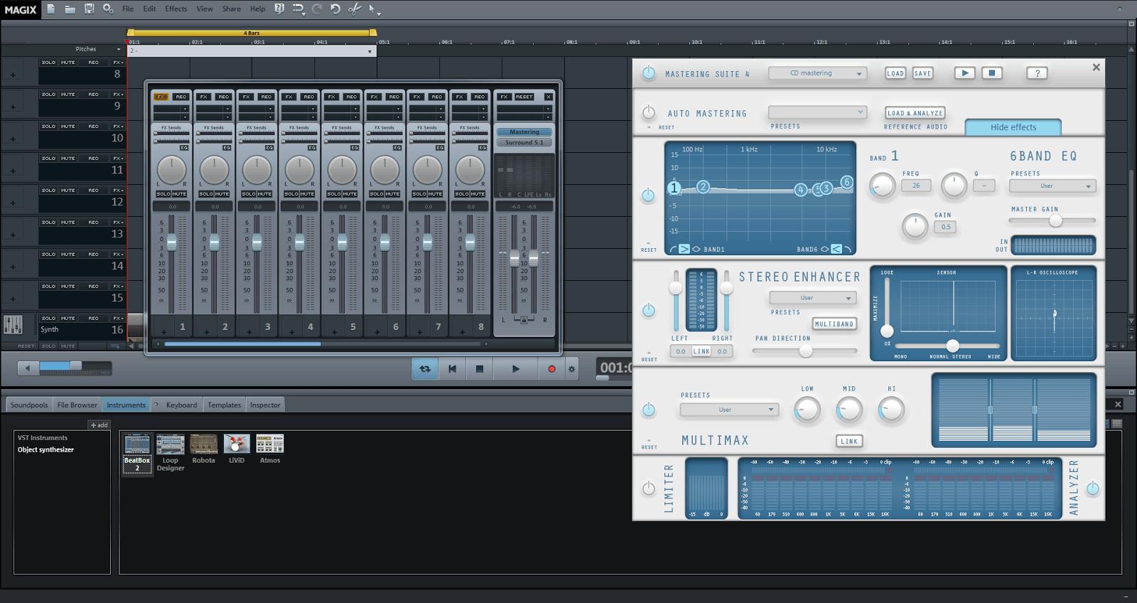magix music maker 2015 premium crack free download