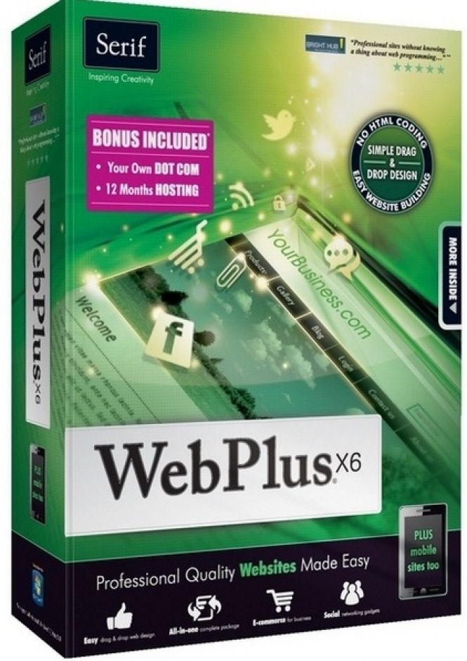 WebPlus Starter Edition - download in one click. Virus free.