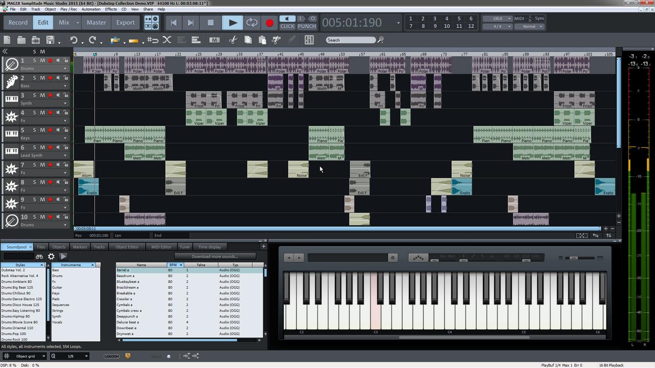 Magix Samplitude Music Studio 2015 Download In One Click
