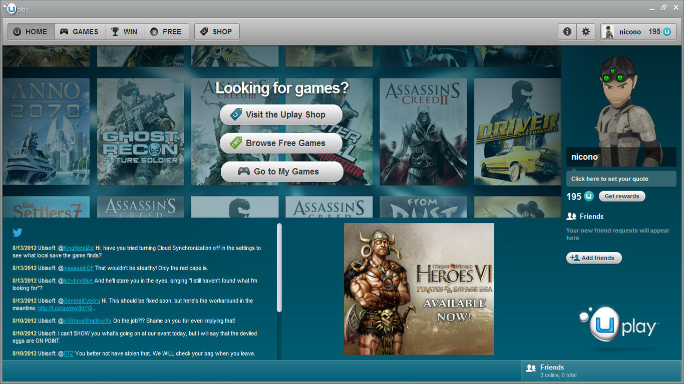 Uplay - download in one click. Virus free.