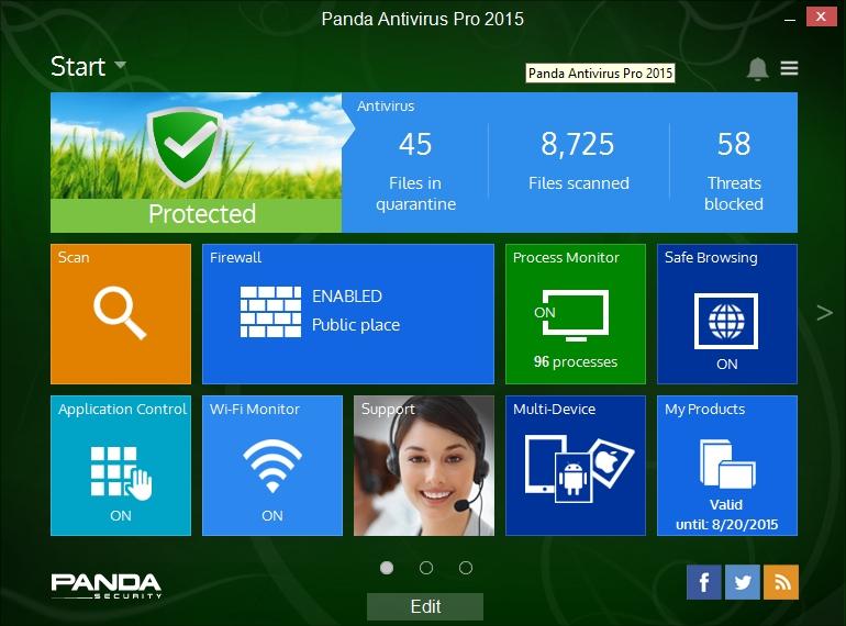 Panda Antivirus Pro 2015 Download In One Click Virus Free