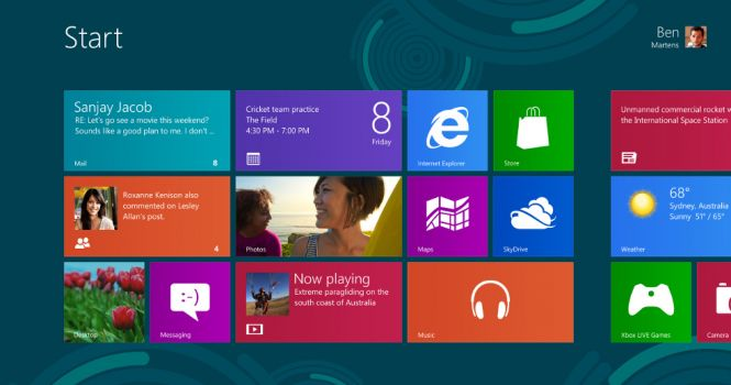 Windows 8 PRO ISO Start
