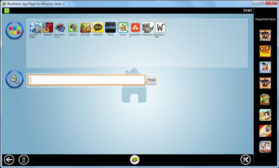 BlueStacks - download in one click  Virus free