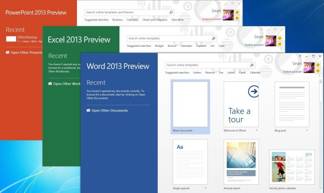 Microsoft Office 2013 programs
