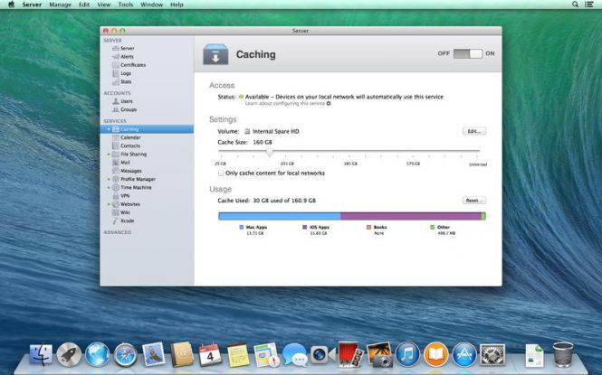 Mac OS X Mavericks 10.9.5 interface and windows