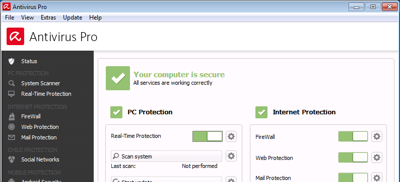 avira antivirus for windows xp 32 bit