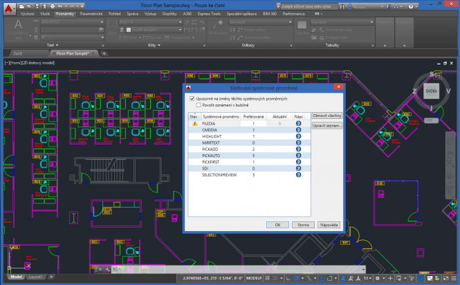 Autocad Electrical 2016 interface