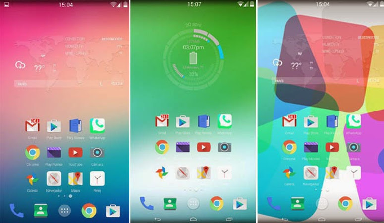 Android 5.1 Lollipop interface