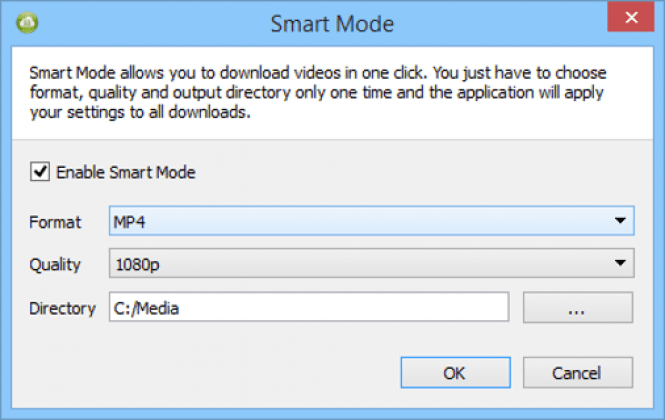 4K Video Downloader Smart Mode