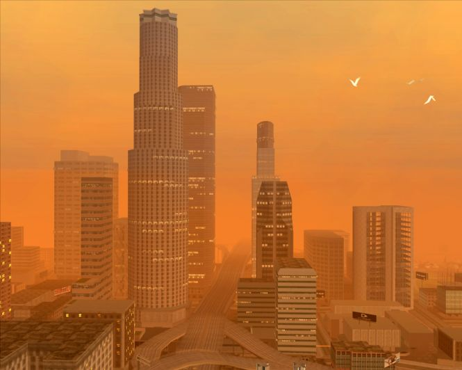 A view of Los Santos, one of the three cities in GTA: Sand Andreas