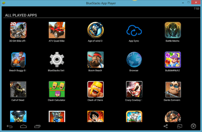 BlueStacks 2 on PC