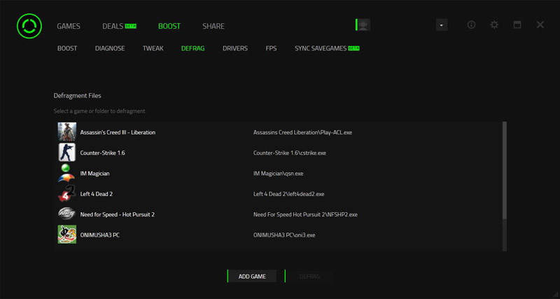 Razer Cortex - download in one click  Virus free