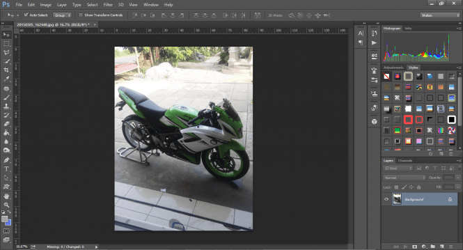 Adobe Photoshop CC 2015 tools