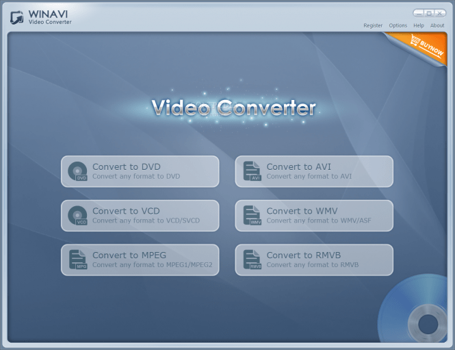 All In One Converter main window