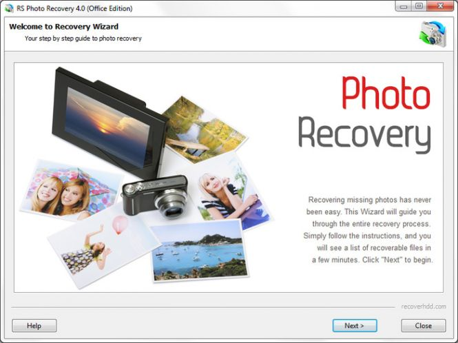 RS Photo Recovery Wizard