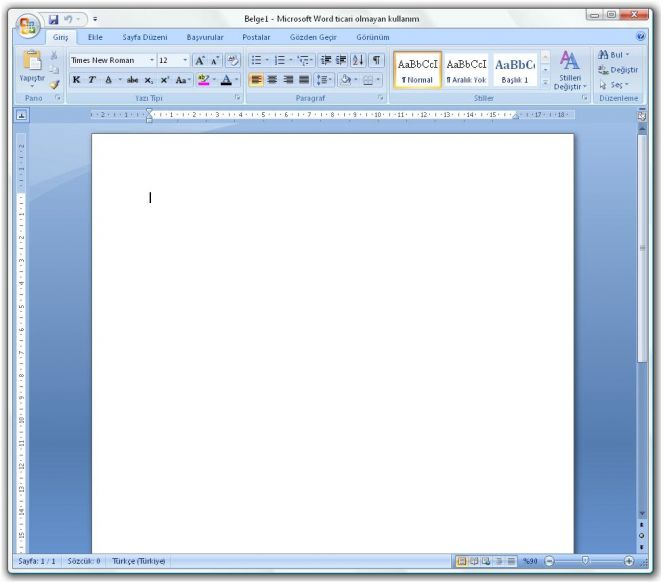 MS Office 2007 Enterprise Word
