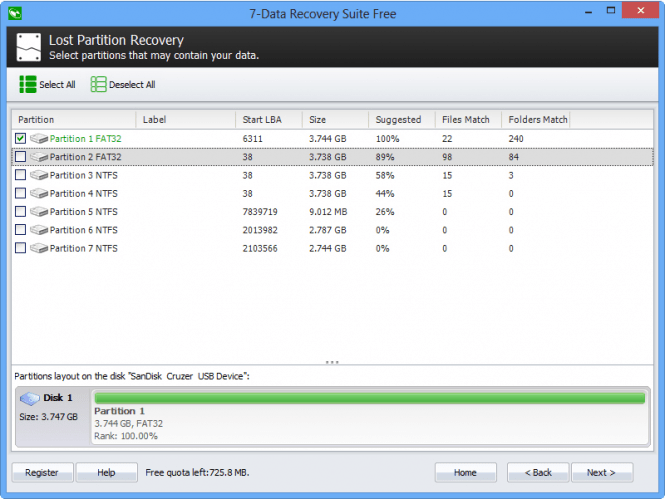 7-Data Recovery Suite partition recovery