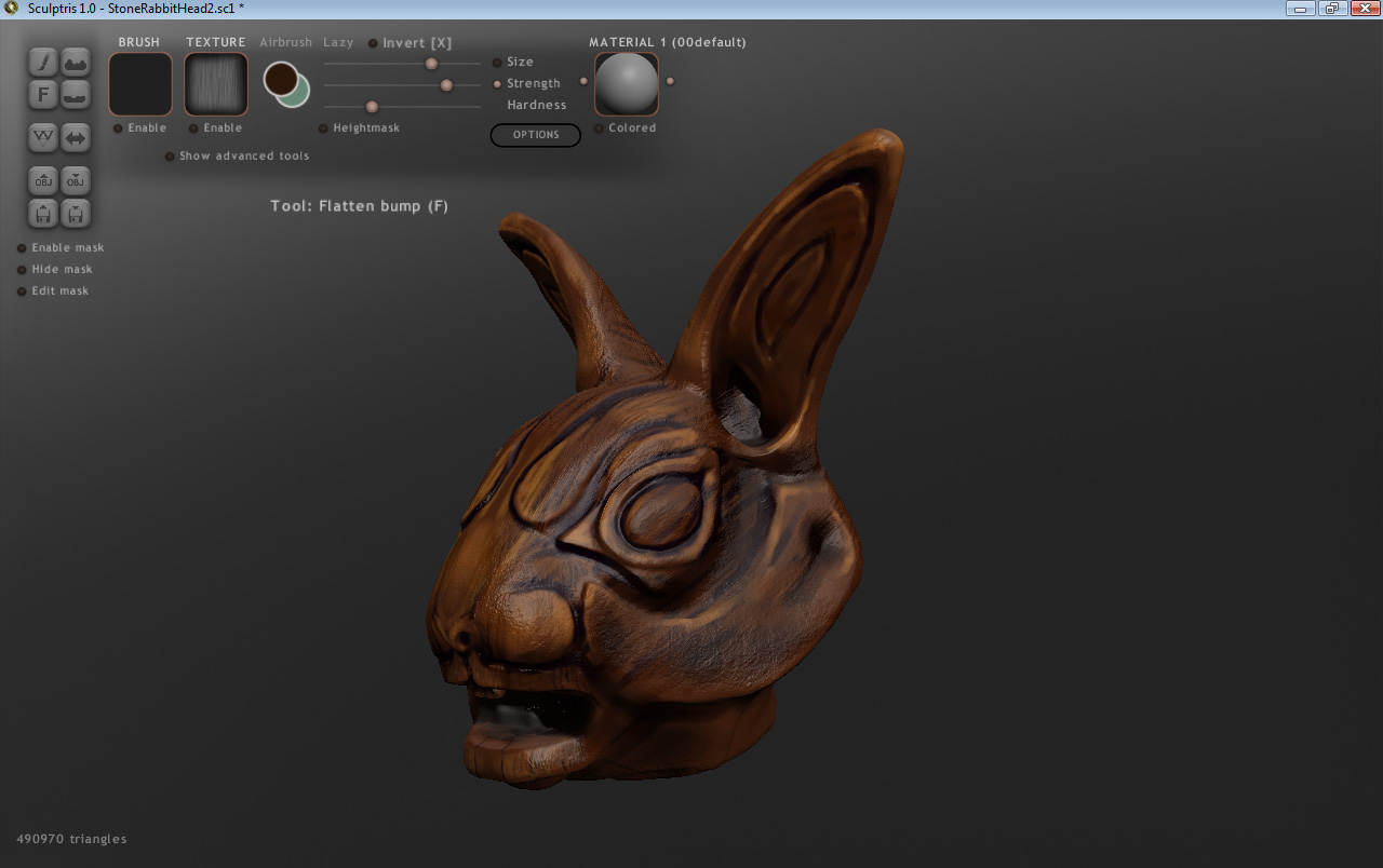 Sculptris to Vue?? Having a terrible time with exporting ...