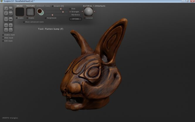 Sculptris rabbit