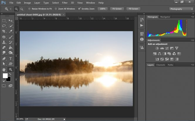 Adobe Photoshop CC 2017 screenshot
