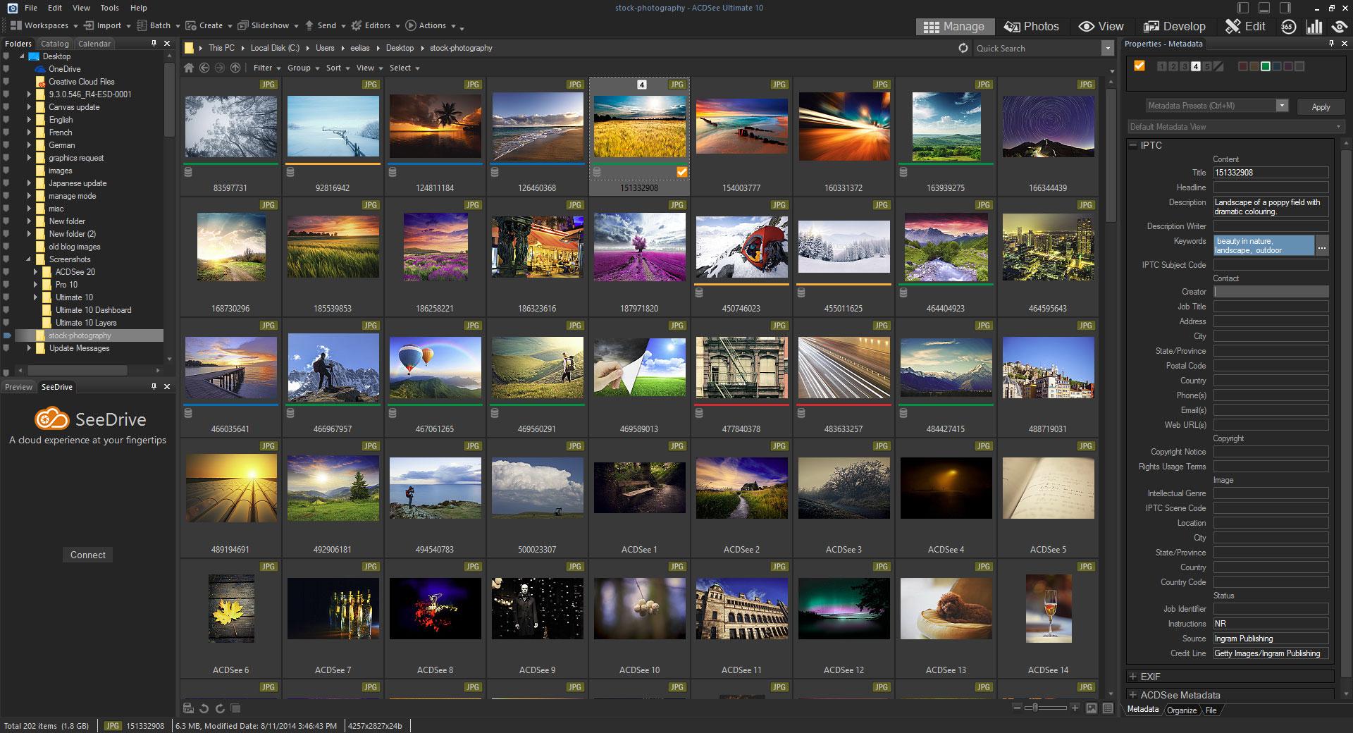 Kết quả hình ảnh cho ACDSee Photo Editor 10
