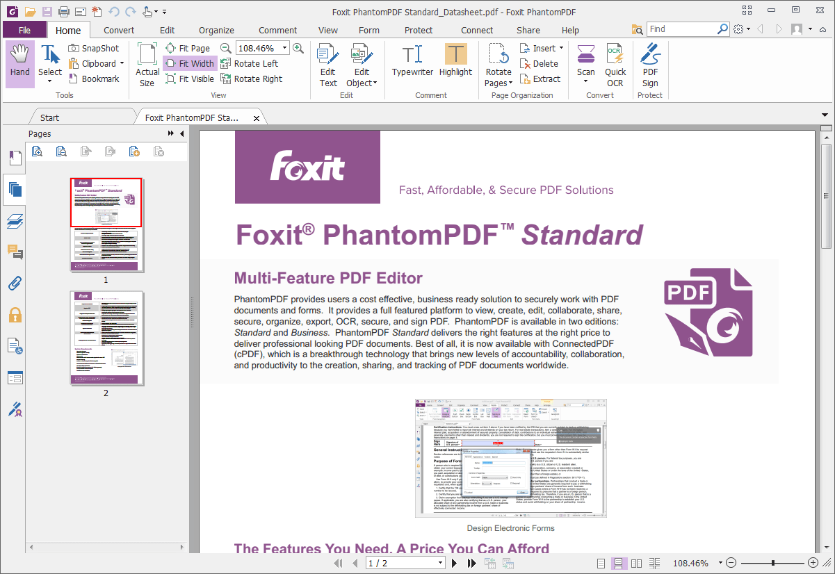 how to add one pdf file to another foxit