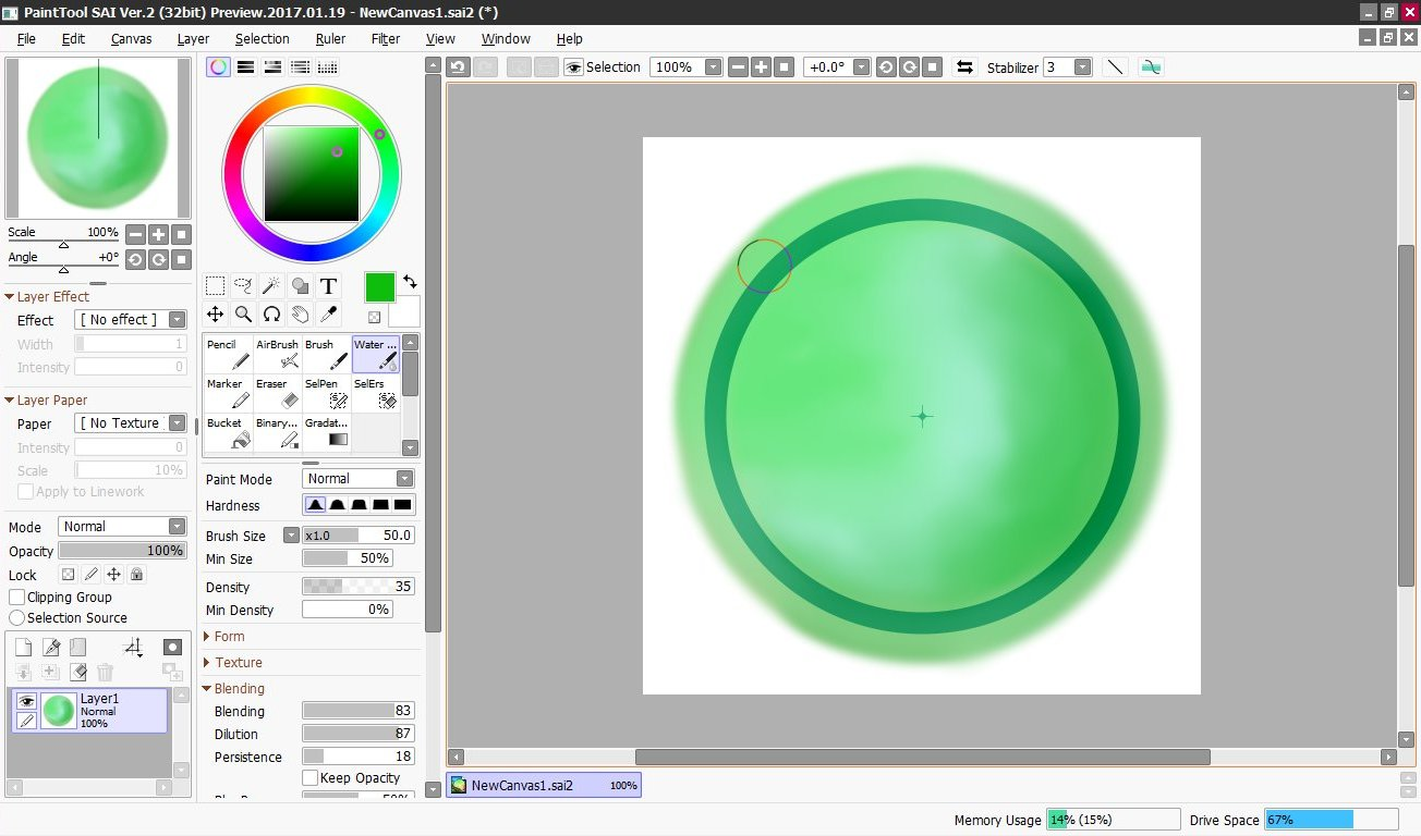 Paint Tool SAI 2 - download in one click  Virus free