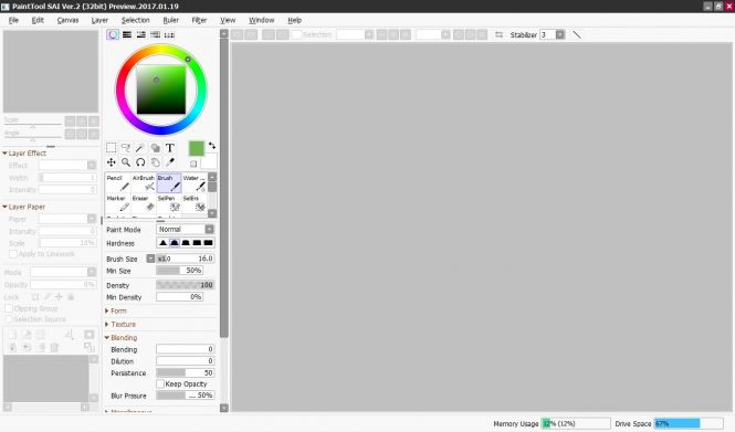 paint tool sai 2 free trial