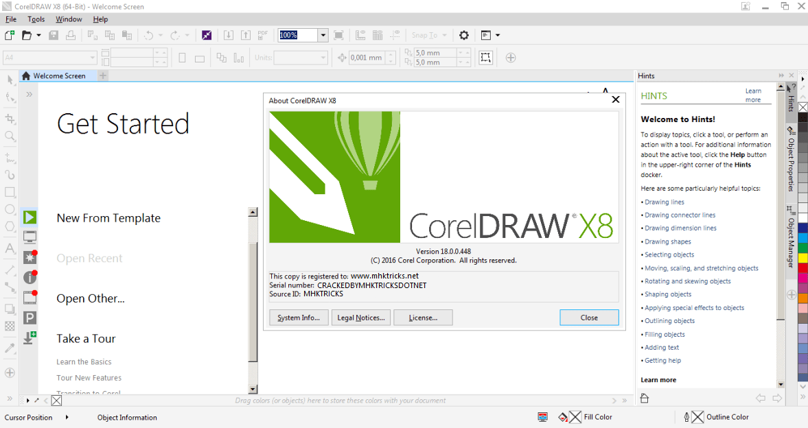 overview and screenshots coreldraw graphics suite x8 is the newest version