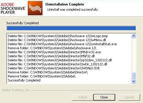 shockwave standalone installer