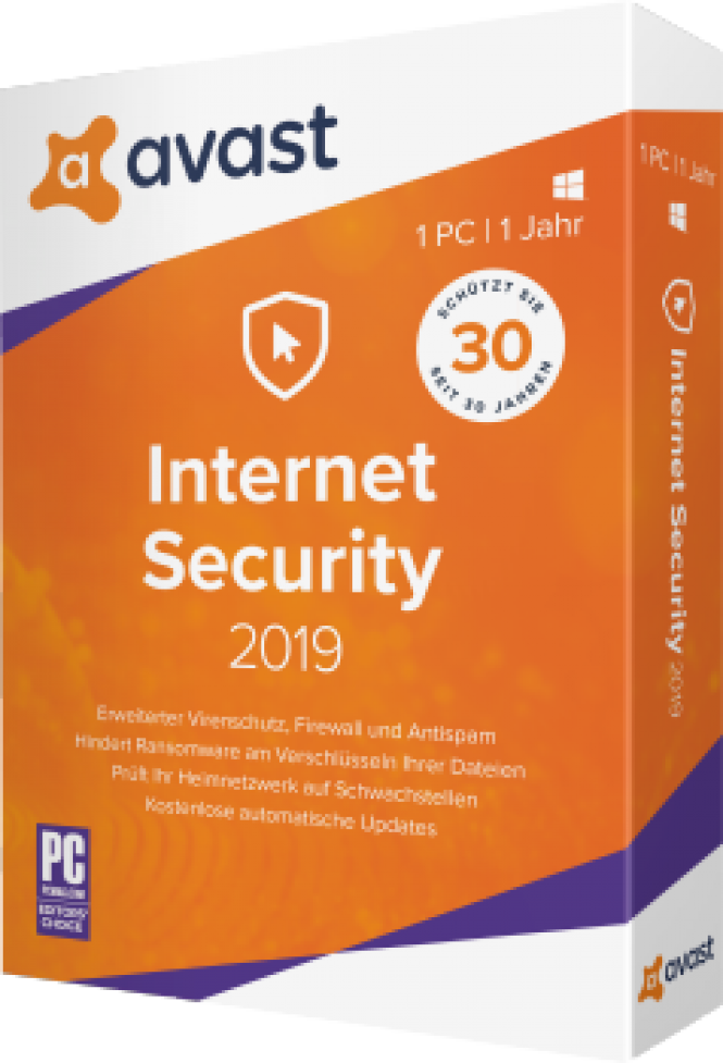 Avast Internet Security 2019 - download in one click  Virus free